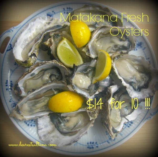 Matakana Oysters