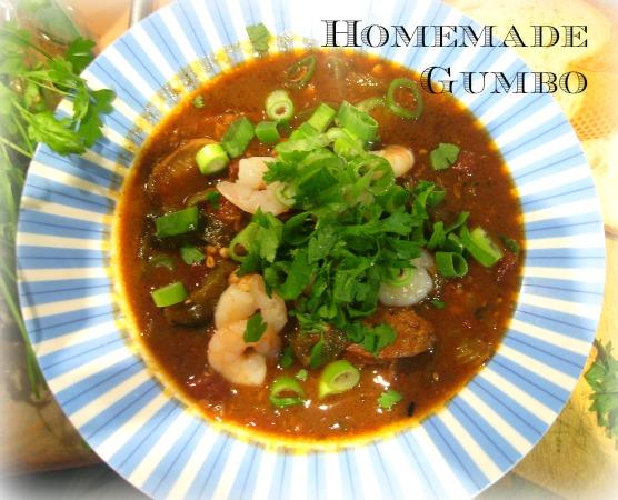 homemade gumbo