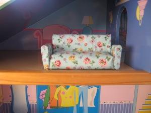 Sofa for the Dollhouse