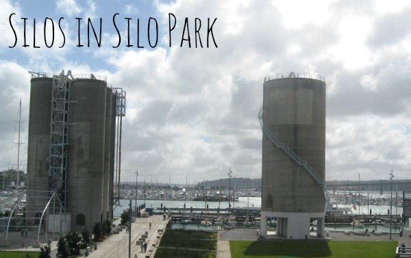 Silos in Silo Park
