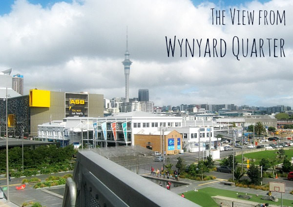 The View from Wynyard Quarter