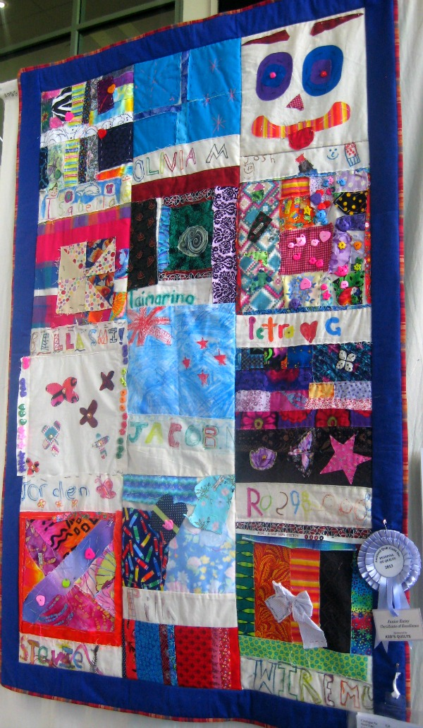 Kids Quilt Auckland Festival of Quilts
