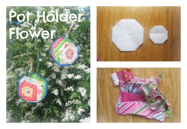 Pot Holder Flower
