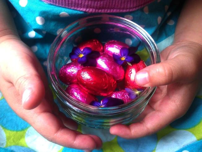 Red Birthday Eggs